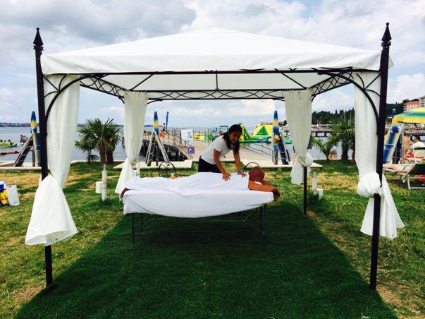 Masaža na plaži